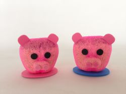 Peppa Pig e George Ecológicos