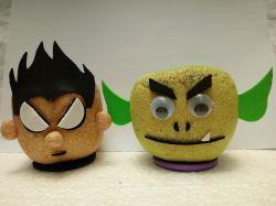 Jovens Titãs Robin & Mutano